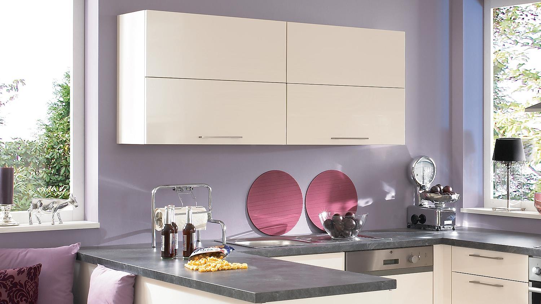 L-Küche Einbauküche Küche mit Auswahl inkl. E-Geräte - 399 | {Einbauküche pink 24}