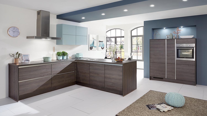 nobilia l k che einbauk che k che mit auswahl inkl e. Black Bedroom Furniture Sets. Home Design Ideas