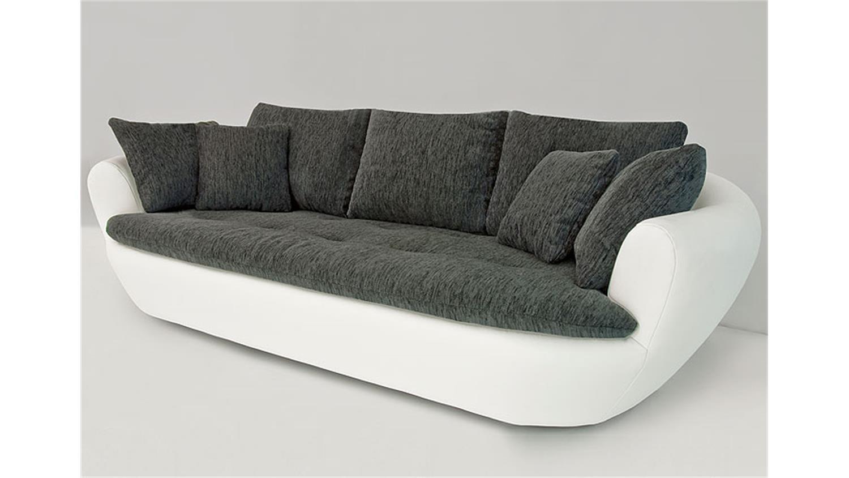 solterra 3 2 1 sofa garnitur wei schwarz. Black Bedroom Furniture Sets. Home Design Ideas