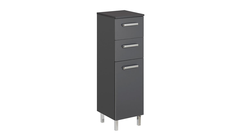 pelipal kommode mainz badm bel in anthrazit glanz inkl t rd mpfer. Black Bedroom Furniture Sets. Home Design Ideas