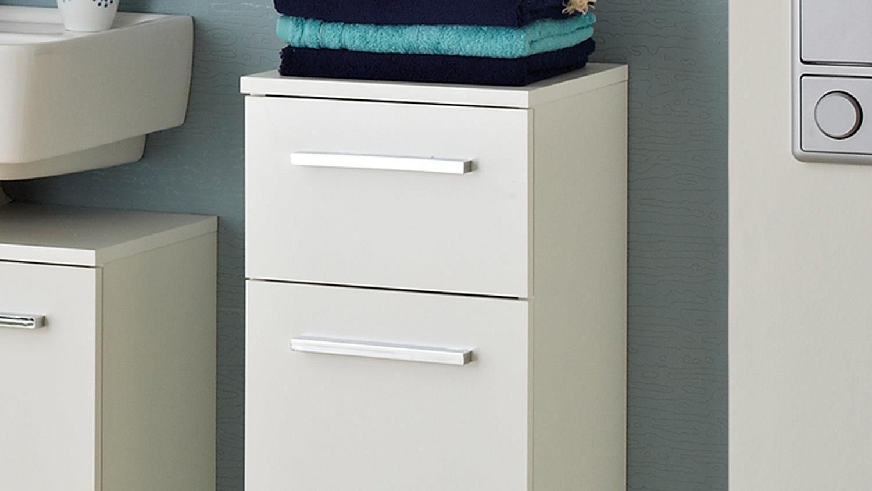 pelipal kommode trier badm bel schrank front in wei glanz. Black Bedroom Furniture Sets. Home Design Ideas