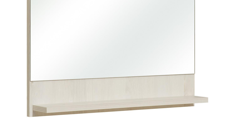 pelipal spiegel jan badm bel wandspiegel in pinie ida hell 60x68 cm. Black Bedroom Furniture Sets. Home Design Ideas