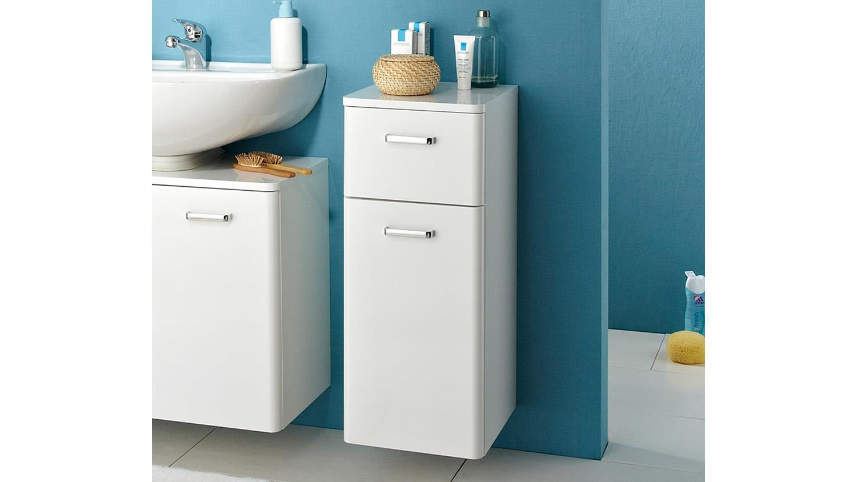 pelipal kommode piolo badm bel in wei hochglanz inkl t rd mpfer. Black Bedroom Furniture Sets. Home Design Ideas