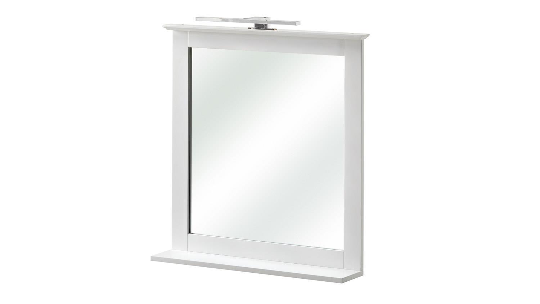 pelipal spiegel jasper badm bel wandspiegel in wei mit ablage 60x68. Black Bedroom Furniture Sets. Home Design Ideas