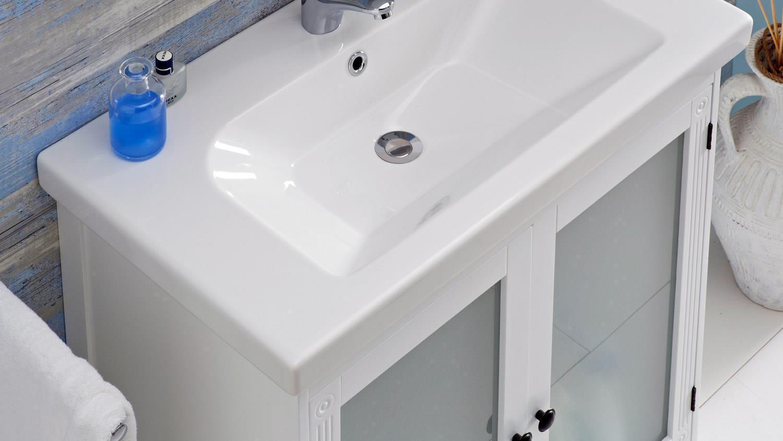 pelipal badezimmer maxim badm bel komplettset wei mit glas 5 teilig. Black Bedroom Furniture Sets. Home Design Ideas