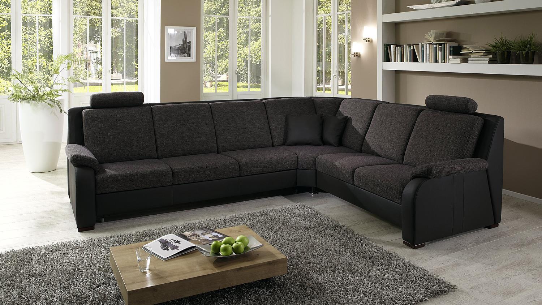 ecksofa braun. Black Bedroom Furniture Sets. Home Design Ideas