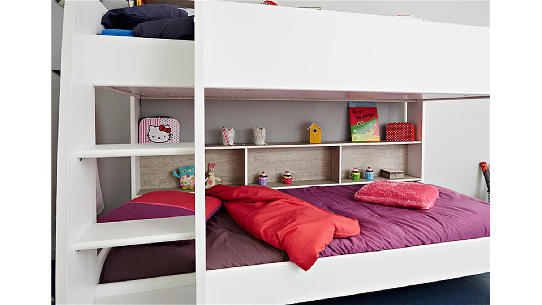Etagenbett Lupo 2 : Ticaa einzel etagenbett buche lupo« schlafwelt