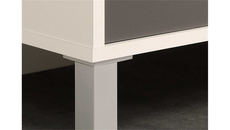 k chenschrank optibox in wei und grau 60 cm. Black Bedroom Furniture Sets. Home Design Ideas