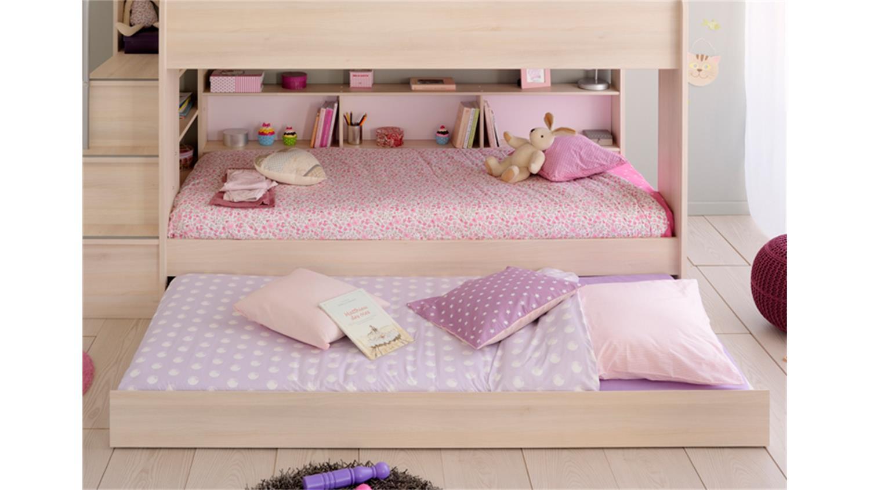 Etagenbett Bibop Erfahrung : Bettschubkasten bibop in akazie dekor für etagenbett