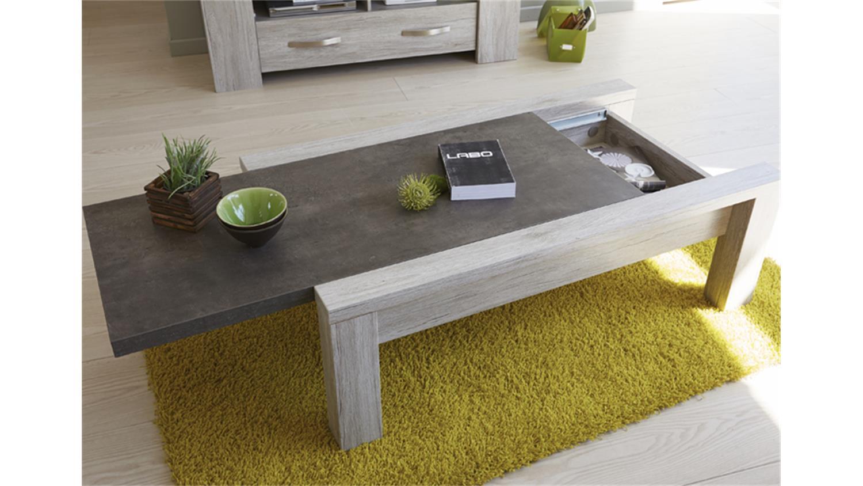 couchtisch malone 43 in eiche steinoptik grau tisch 116 cm. Black Bedroom Furniture Sets. Home Design Ideas