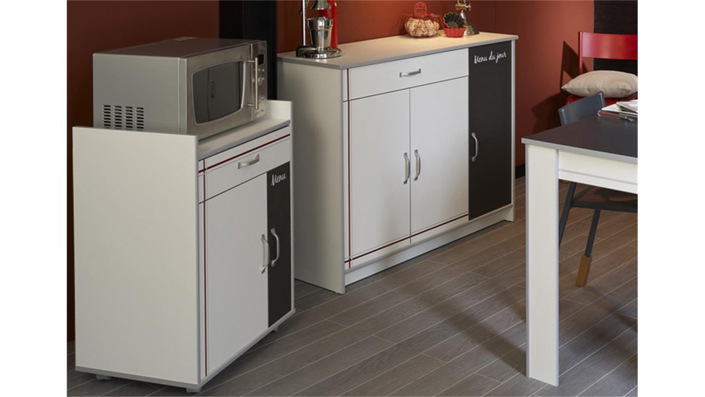 bistrot 6 komplettset 4tlg k chenschr nke mit tisch wei. Black Bedroom Furniture Sets. Home Design Ideas