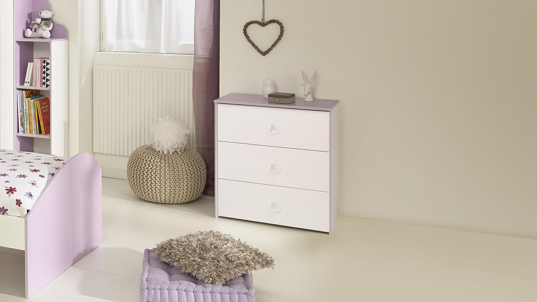 kommode wei lila inspirierendes design f r wohnm bel. Black Bedroom Furniture Sets. Home Design Ideas