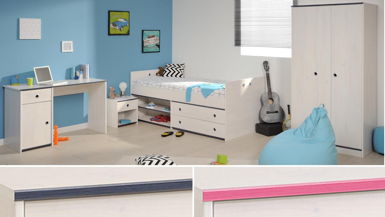 Kinderzimmer pink blau ihr traumhaus ideen for Kinderzimmer blau