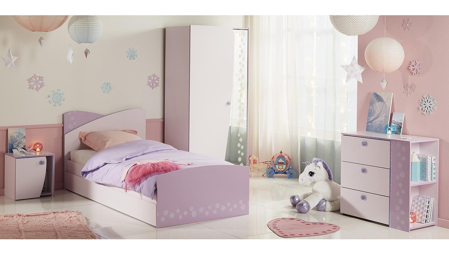 kinderzimmer streichen rosa lila raum und m beldesign inspiration. Black Bedroom Furniture Sets. Home Design Ideas