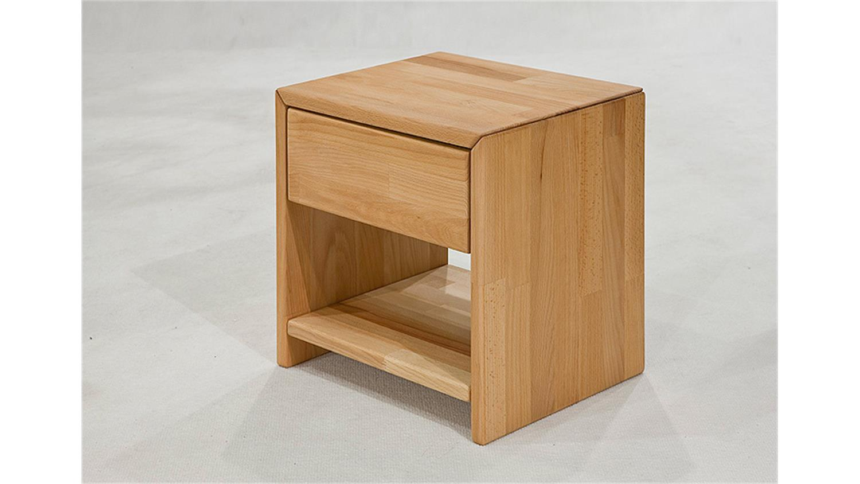 bett victoria kernbuche massiv natur ge lt 140x200 cm. Black Bedroom Furniture Sets. Home Design Ideas