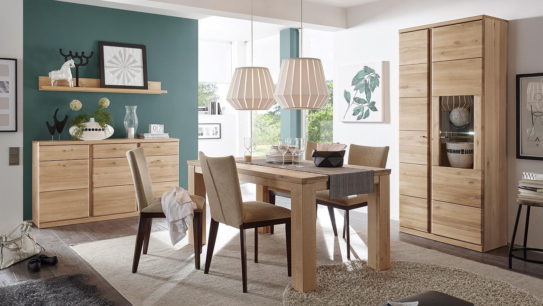vitrine terano in wildeiche bianco teilmassiv. Black Bedroom Furniture Sets. Home Design Ideas