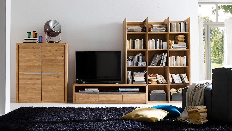 regal 2 florenz in wildeiche bianco massiv rechts. Black Bedroom Furniture Sets. Home Design Ideas
