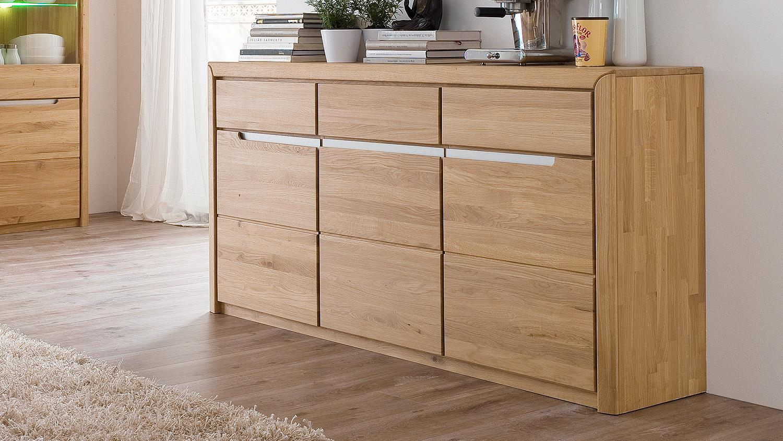 sideboard 2 florenz wildeiche bianco massiv softclose. Black Bedroom Furniture Sets. Home Design Ideas