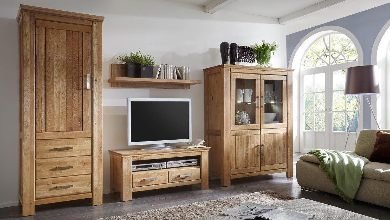 schrank 1 riena in wildeiche teilmassiv inkl softclose. Black Bedroom Furniture Sets. Home Design Ideas