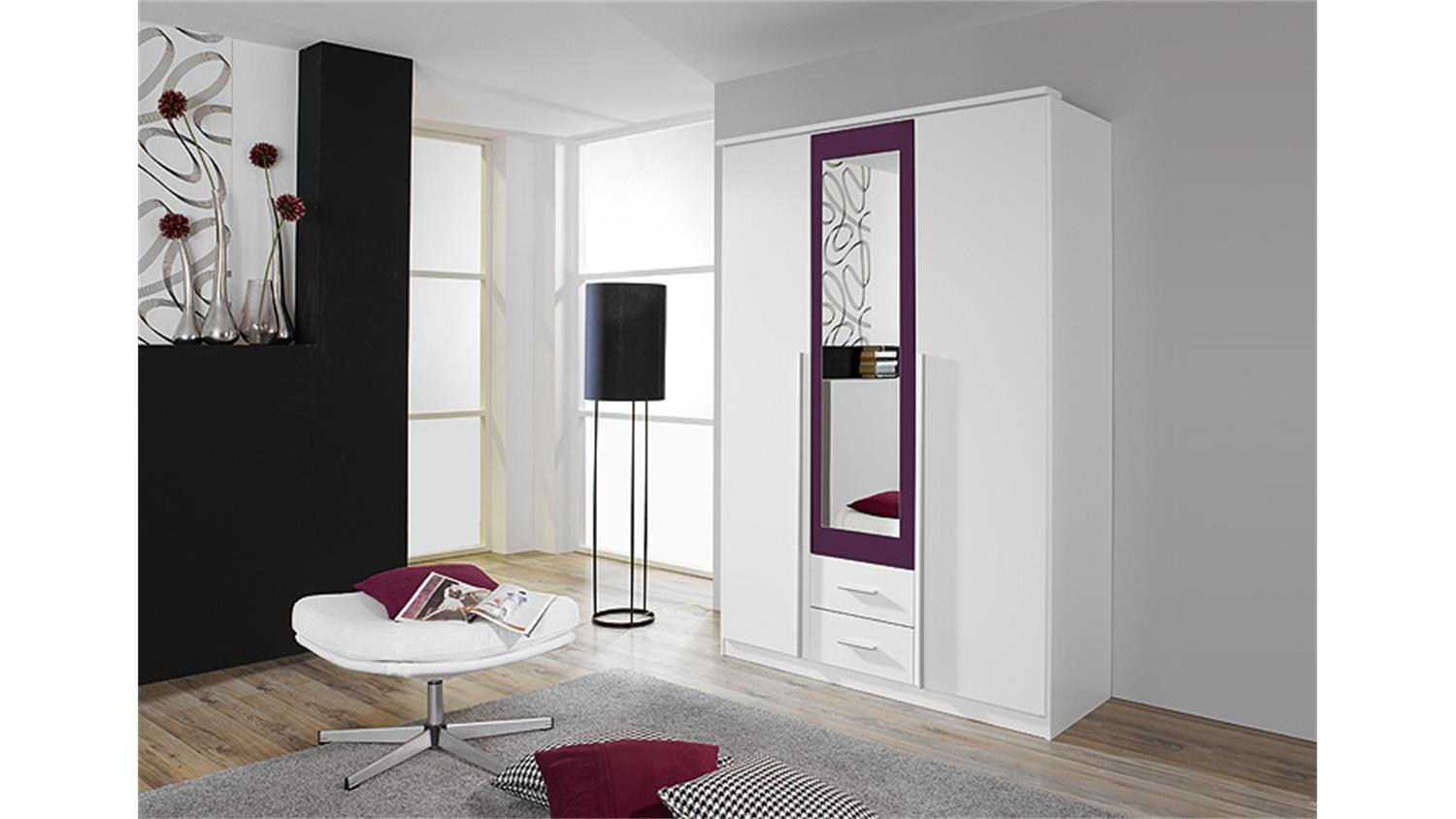 kleiderschrank lila bestseller shop f r m bel und einrichtungen. Black Bedroom Furniture Sets. Home Design Ideas