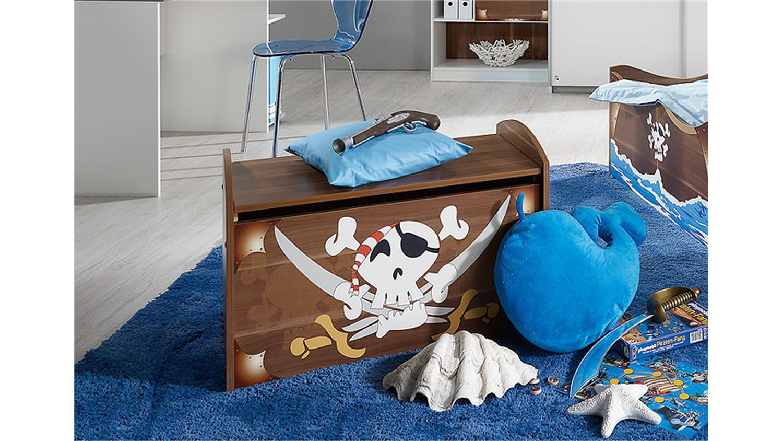 truhe drake spielzeugkiste schatzkiste kernnussbaum dekor. Black Bedroom Furniture Sets. Home Design Ideas