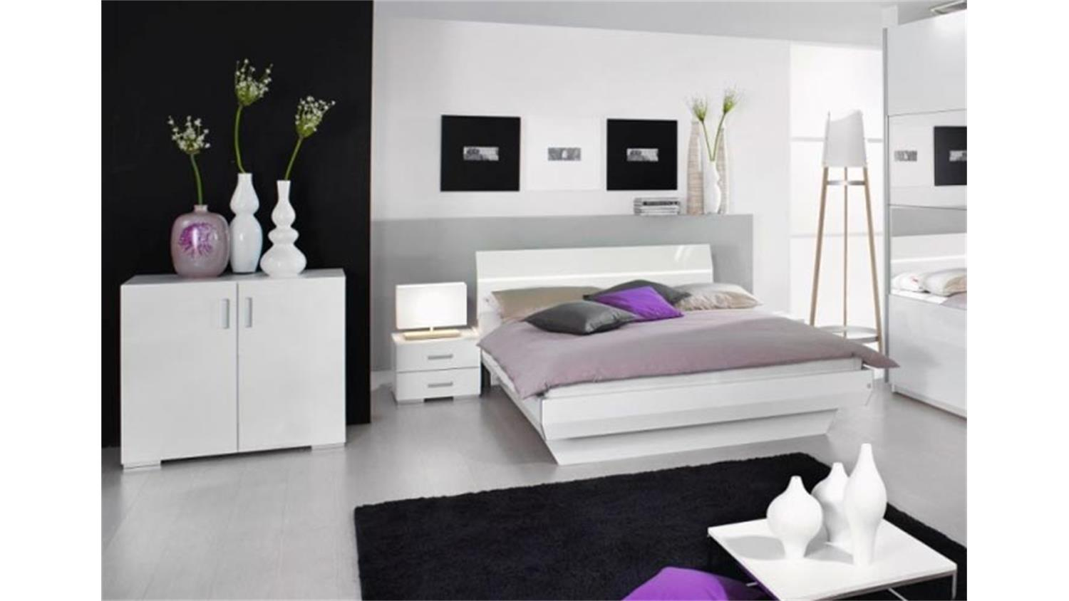kommode tira t renkommode schlafzimmer wei hochglanz. Black Bedroom Furniture Sets. Home Design Ideas