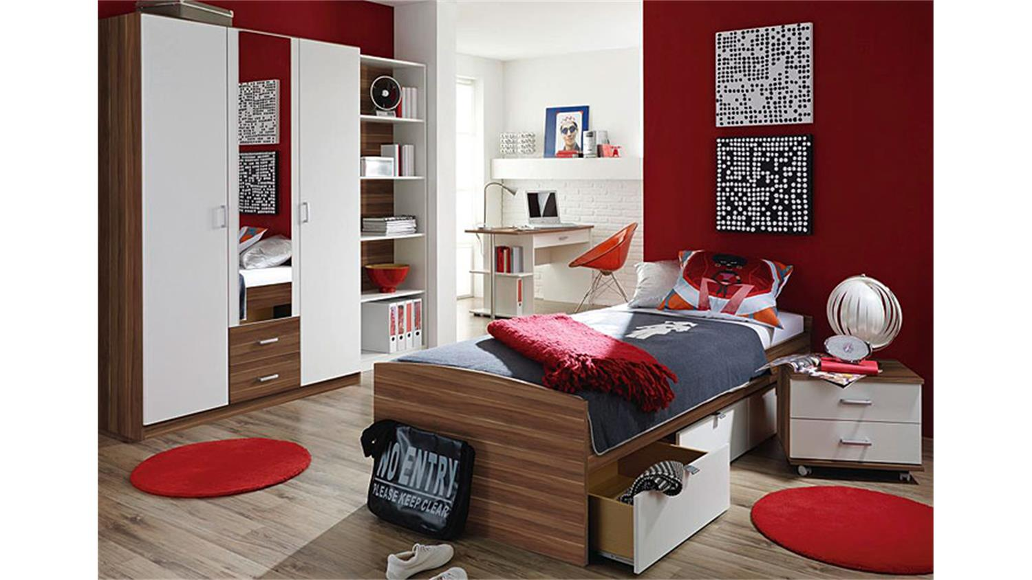 kinderbett mit schrank best komplettes bett schrank kommode lilith with kinderbett mit schrank. Black Bedroom Furniture Sets. Home Design Ideas
