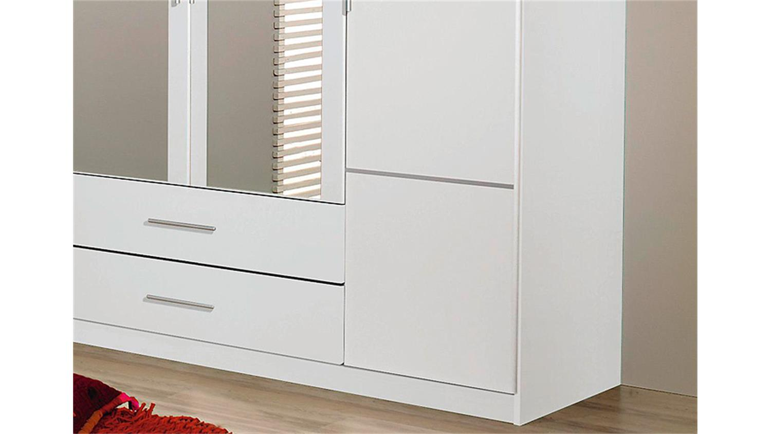 kleiderschrank micro schlafzimmer schrank 4 t rig alpinwei mit spiegel. Black Bedroom Furniture Sets. Home Design Ideas