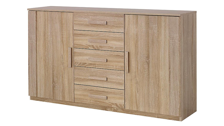 sideboad utrecht kommode anrichte in sonoma eiche dekor. Black Bedroom Furniture Sets. Home Design Ideas