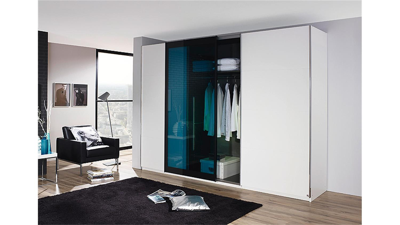 schwebet renschrank lahti wei petrol glas 315 cm. Black Bedroom Furniture Sets. Home Design Ideas