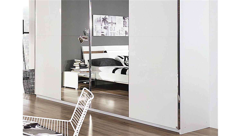 schlafzimmer set denia wei hochglanz spiegel chrom