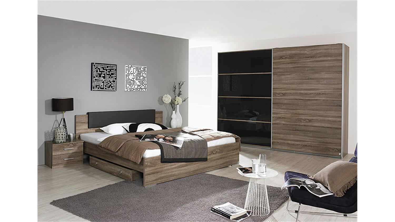 cholet schlafzimmerbett in havanna eiche 180x200 cm, Schlafzimmer entwurf