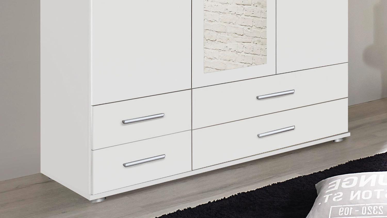 Kleiderschrank 3 Türig Weiß : kleiderschrank rasant dreht renschrank 3 t rig wei ~ Watch28wear.com Haus und Dekorationen