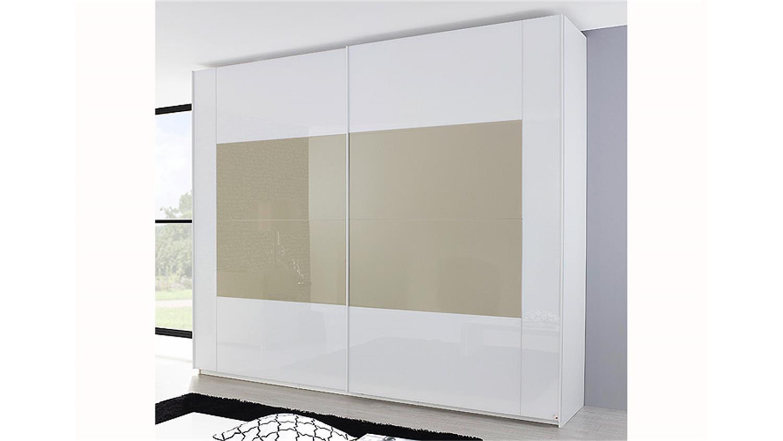 schwebet renschrank x tend glas wei und sahara. Black Bedroom Furniture Sets. Home Design Ideas