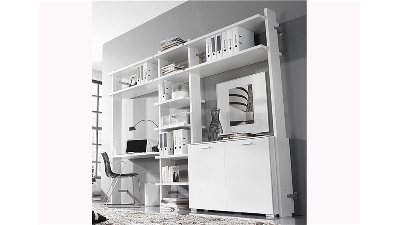regalkombi myloft b ro regal in wei dekor breite 289 cm. Black Bedroom Furniture Sets. Home Design Ideas