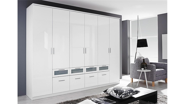 kleiderschrank garmisch plus in wei hochglanz b 271 cm. Black Bedroom Furniture Sets. Home Design Ideas