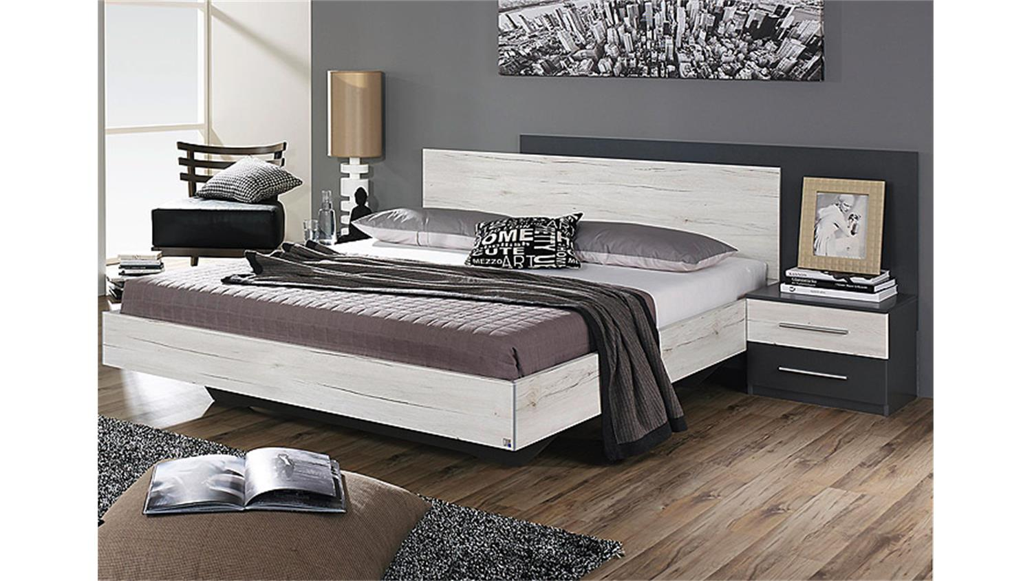 schlafzimmer grau. Black Bedroom Furniture Sets. Home Design Ideas