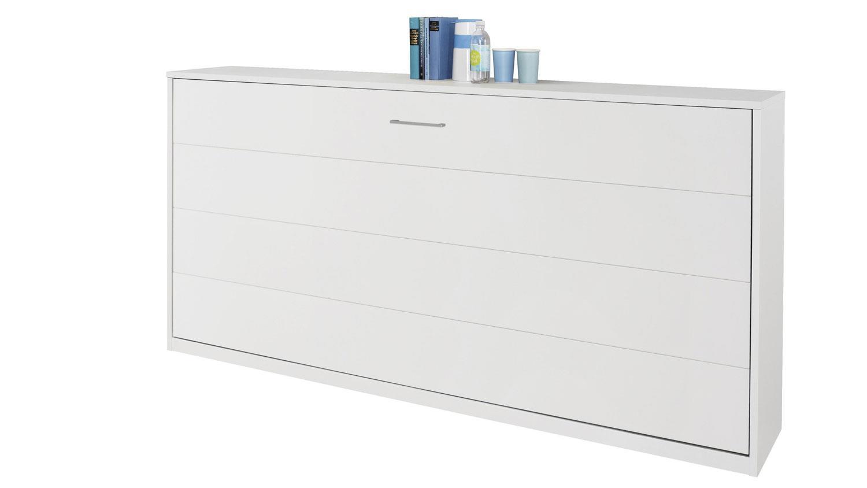 schrankbett albero 90x200 cm wei. Black Bedroom Furniture Sets. Home Design Ideas
