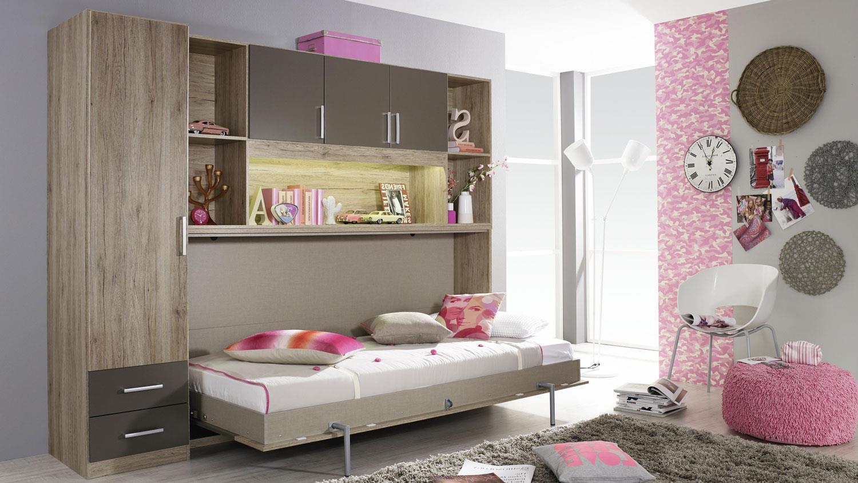 Schrankbett Mit Kleiderschrank | Dekoration Ideen