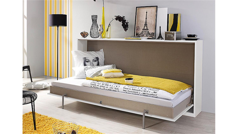 klappbett set albero wei und lavagrau 90x200 cm. Black Bedroom Furniture Sets. Home Design Ideas