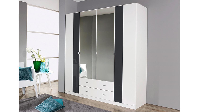 kleiderschrank dortmund wei glasauflage basalt 181 cm. Black Bedroom Furniture Sets. Home Design Ideas