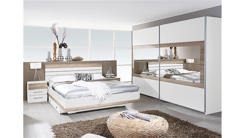 schlafzimmer set tarragona alpinwei eiche sanremo hell. Black Bedroom Furniture Sets. Home Design Ideas