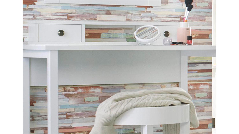 Frisiertisch Ohne Spiegel marit konsole schminktisch mit spiegel weiß