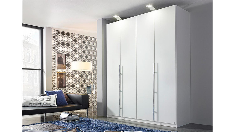 kleiderschrank bayamo glas matt wei b 181 cm 4 t ren. Black Bedroom Furniture Sets. Home Design Ideas