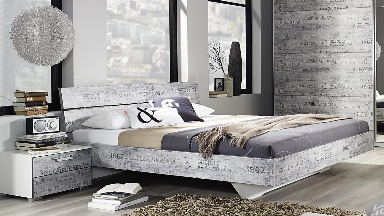 schlafzimmer sumatra extra alpinwei vintage grau. Black Bedroom Furniture Sets. Home Design Ideas