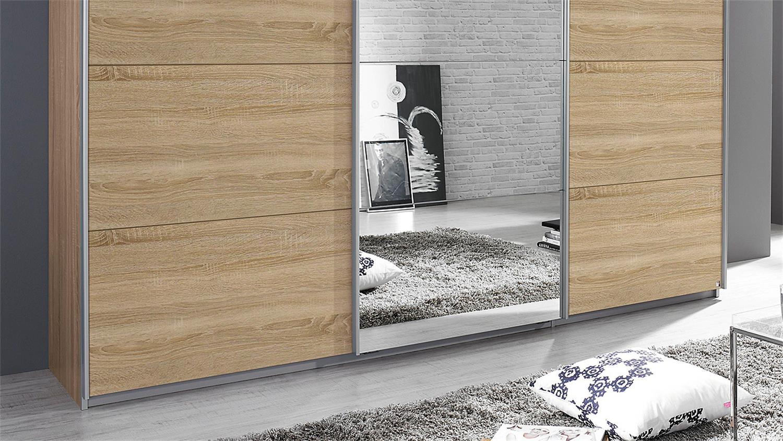 Schwebetürenschrank spiegel eiche  KULMBACH Sonoma Eiche Spiegel 271