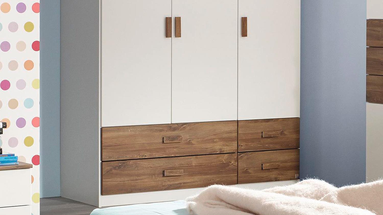 jugendzimmer susann kinderzimmer in wei eiche stirling. Black Bedroom Furniture Sets. Home Design Ideas