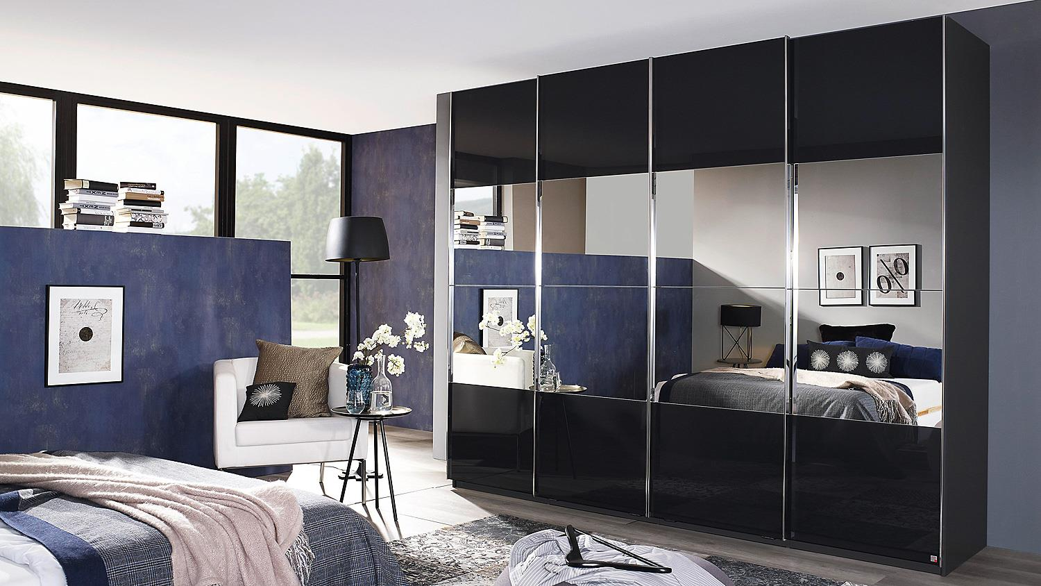 schwebet renschrank saligo grau spiegel synchronauszug 270. Black Bedroom Furniture Sets. Home Design Ideas