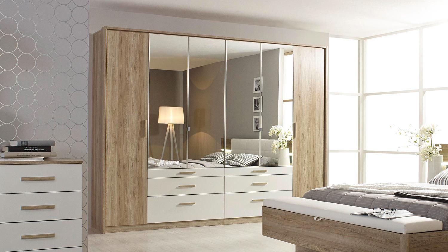 kleiderschrank mosbach schrank sanremo eiche hell wei 271. Black Bedroom Furniture Sets. Home Design Ideas