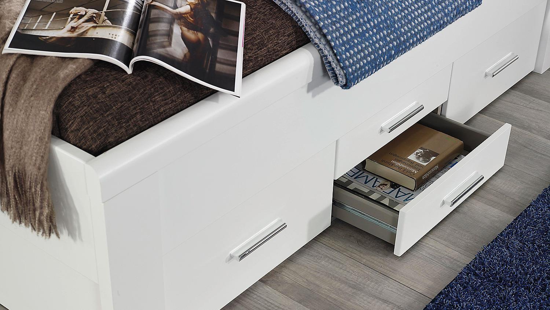 bett friedberg schlafzimmerbett in wei 180x200 cm. Black Bedroom Furniture Sets. Home Design Ideas